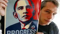 Shepard Fairey obama rocks