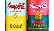 CAMPBELL'S SOUP CAN WARHOL POP EDITION